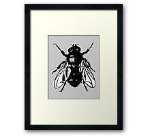 The Fly (bicolor) Framed Print