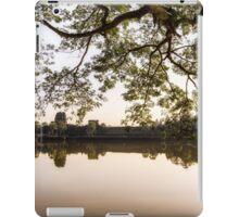 Angkor Wat reflection iPad Case/Skin