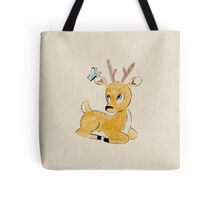 Deer and Butterfly Tote Bag