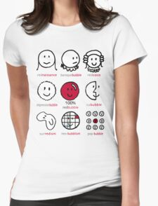 The History of Redbubble Womens Fitted T-Shirt