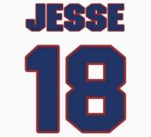 Basketball player Jesse Arnelle jersey 18 by imsport