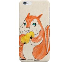 Chubby Chipmunk iPhone Case/Skin