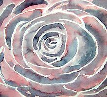 modern rose art by derekmccrea