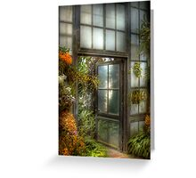 The Door to Paradise Greeting Card