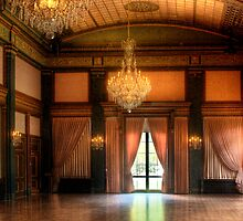 In the ballroom by Mike  Savad