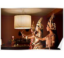 Aspara Dancers Poster