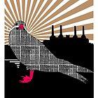 Inca tern in Battersea by MooieVogel
