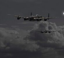 Lancaster - 'Night Hunter' by Pat Speirs