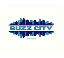 BUZZ CITY  Art Print