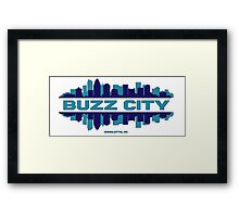BUZZ CITY  Framed Print