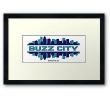 BUZZ CITY  Framed Print