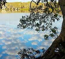 lake ainsworth clouds by GrowingWild
