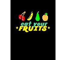 Eat Your Fruits Photographic Print