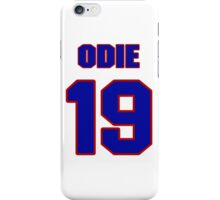 Basketball player Odie Spears jersey 19 iPhone Case/Skin