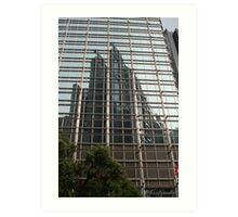 Hong Kong Reflections Art Print