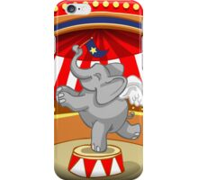 Elephant Circus Party  iPhone Case/Skin