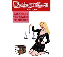 Boobapalooza: Balancing the Scales of Justice Photographic Print