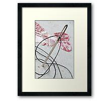 Needle & Thread Framed Print