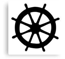 Steering Wheel Canvas Print