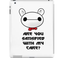 Butler Baymax with Typo iPad Case/Skin