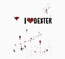 I love Dexter Womens Fitted T-Shirt