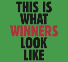 This is what winners look like One Piece - Short Sleeve