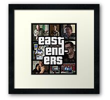 Grand Theft Enders Framed Print