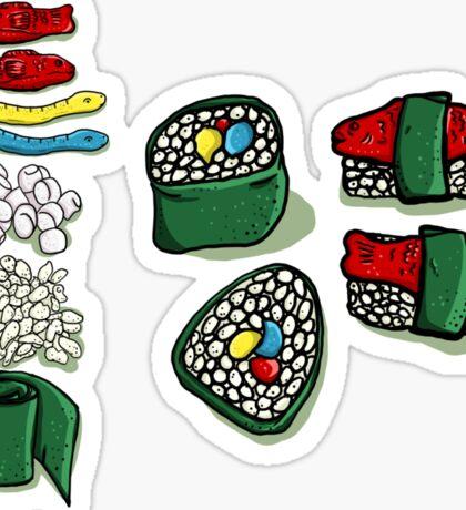 Dessert Sushi Sticker