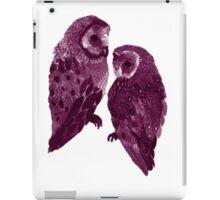 Barn Owl's Love Too iPad Case/Skin