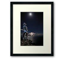 Moongoddess Framed Print