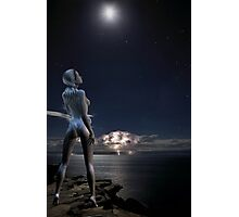 Moongoddess Photographic Print
