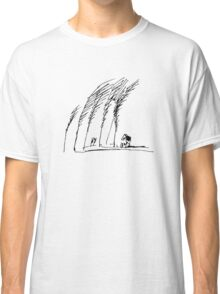 Trees and House Classic T-Shirt