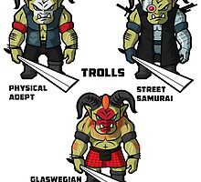 The Trolls by MarkSeb