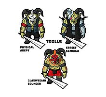 The Trolls Photographic Print