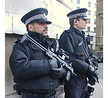 Armed Officers Photographic Print