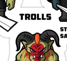 The Trolls Sticker