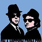 BLUES BROTHERS by John Medbury (LAZY J Studios)