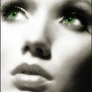 Green Eyes by Areej27Jaafar