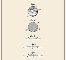 Golf Ball Patent - Colour by FinlayMcNevin