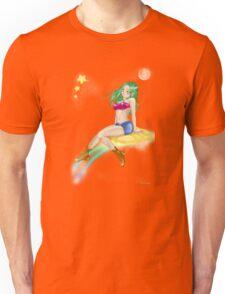 Sweet girl fly color t-shirt Unisex T-Shirt