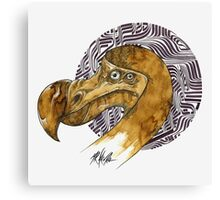 Dodo - coffee and ink - Canvas Print