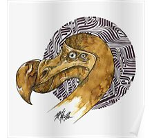 Dodo - coffee and ink - Poster
