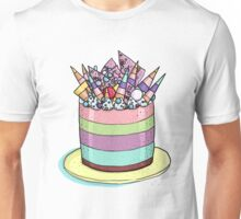 Katherine Sabbath Rainbow Cake Unisex T-Shirt