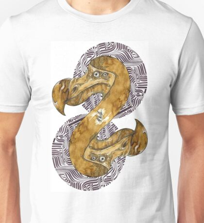 Double Dodo - coffee and ink - Unisex T-Shirt