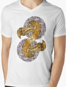 Double Dodo - coffee and ink - Mens V-Neck T-Shirt