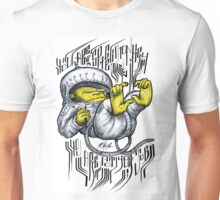 space monkey - you are not your job Unisex T-Shirt