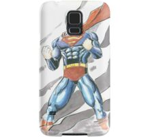 Superman Watercolor Samsung Galaxy Case/Skin