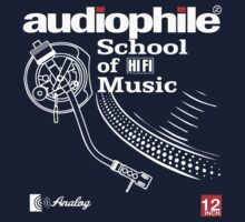 audiophile shirt by retroracing