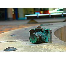 Bronze Nikon SLR Photographic Print