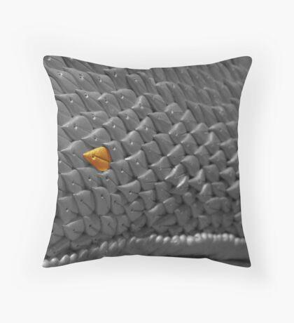 Dragon scale Throw Pillow